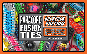 Paracord Fusion Ties - Backpack Edition